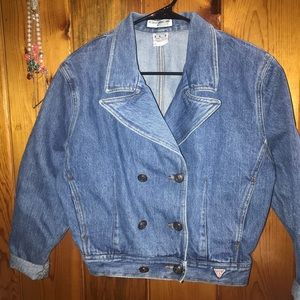 Vintage Georges Marciano for Guess denim Jacket